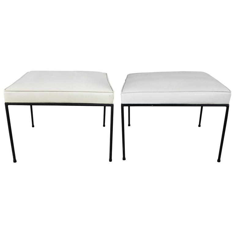850272a00342 Paul McCobb Planner Group All Round Square Stools Winchendon
