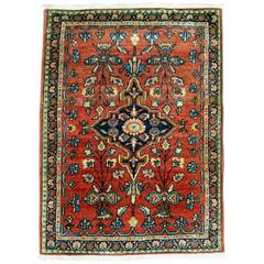 Antique Sarouk Ferehan Rug