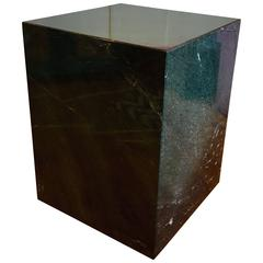 Massive Green Malachite Marble Pedestal