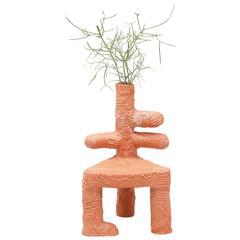 Chris Wolston Terracotta Plant Chair
