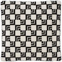 "Schumacher Frank Lloyd Wright Imperial Hotel Velvet Two-Sided 16"" Pillow"