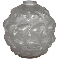 R. Lalique France Vase 'Camaret'