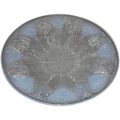 "R. Lalique France Opalescent ""Oeillets"" Cup"