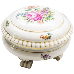 Very Beautiful Augarten Sugar Bowl and Cover, 1950s