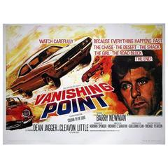 """""""Vanishing Point"""" Film Poster, 1971"""