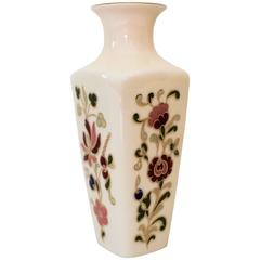 Small Vase by Zsolnay Hungary Ceramic