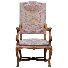 Pair of 19th Century French Walnut Regence Bergeres, Armchairs For ...