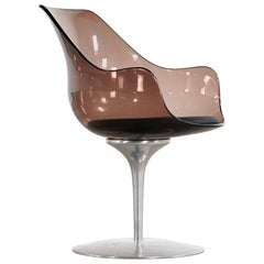 Champagne Chair by Erwin & Estelle Laverne, 1962 for Formes Nouvelles