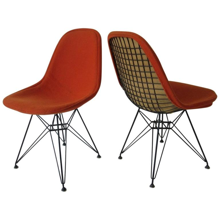 eames herman miller eiffel tower chairs at 1stdibs. Black Bedroom Furniture Sets. Home Design Ideas
