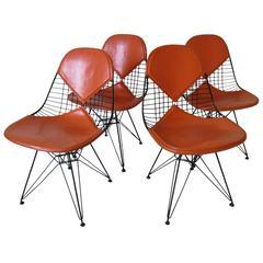 Eames Herman Miller Bikini Eiffel Tower Dining Chairs