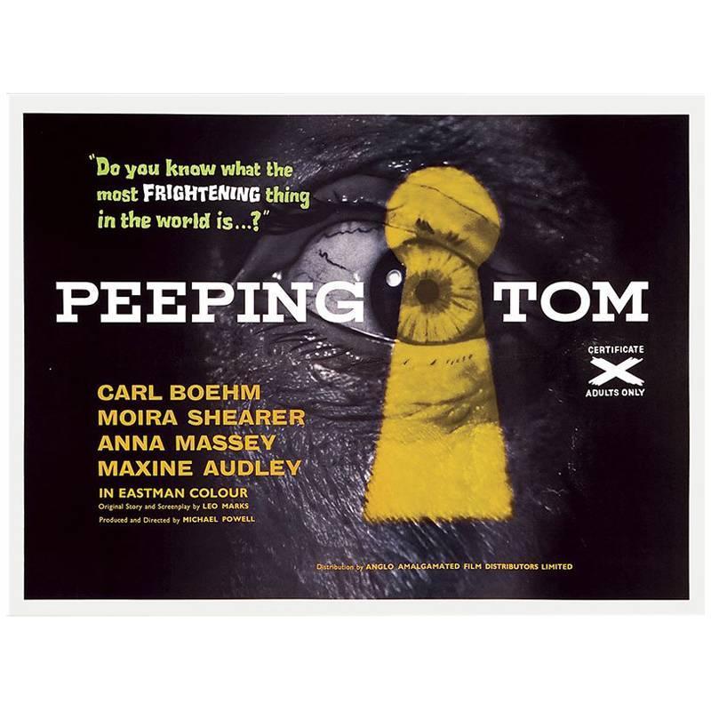 """""""Peeping Tom"""" Film Poster, 1960"""