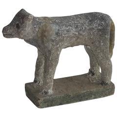 Vintage Stone Lamb
