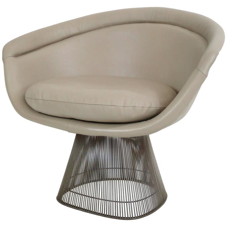 Magnificent Warren Platner Lounge Chair For Knoll Inc At 1Stdibs Spiritservingveterans Wood Chair Design Ideas Spiritservingveteransorg