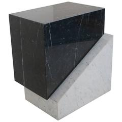 Dramatic Italian Marble Table