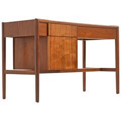 Refinished Drexel Parallel Walnut Desk