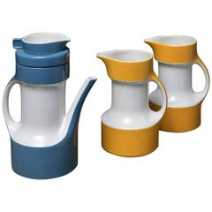 Set of Three Pitchers by Ceramica Pagnossin