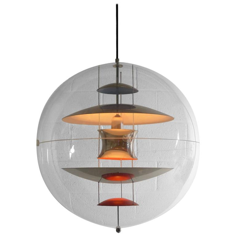 Verner Panton Original Large Size VP Globe 60 1