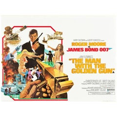 """""""The Man With The Golden Gun"""" Film Posters, 1974"""