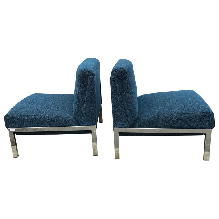 """Samouraï"" Slipper Chairs by Joseph-André Motte For Sale"