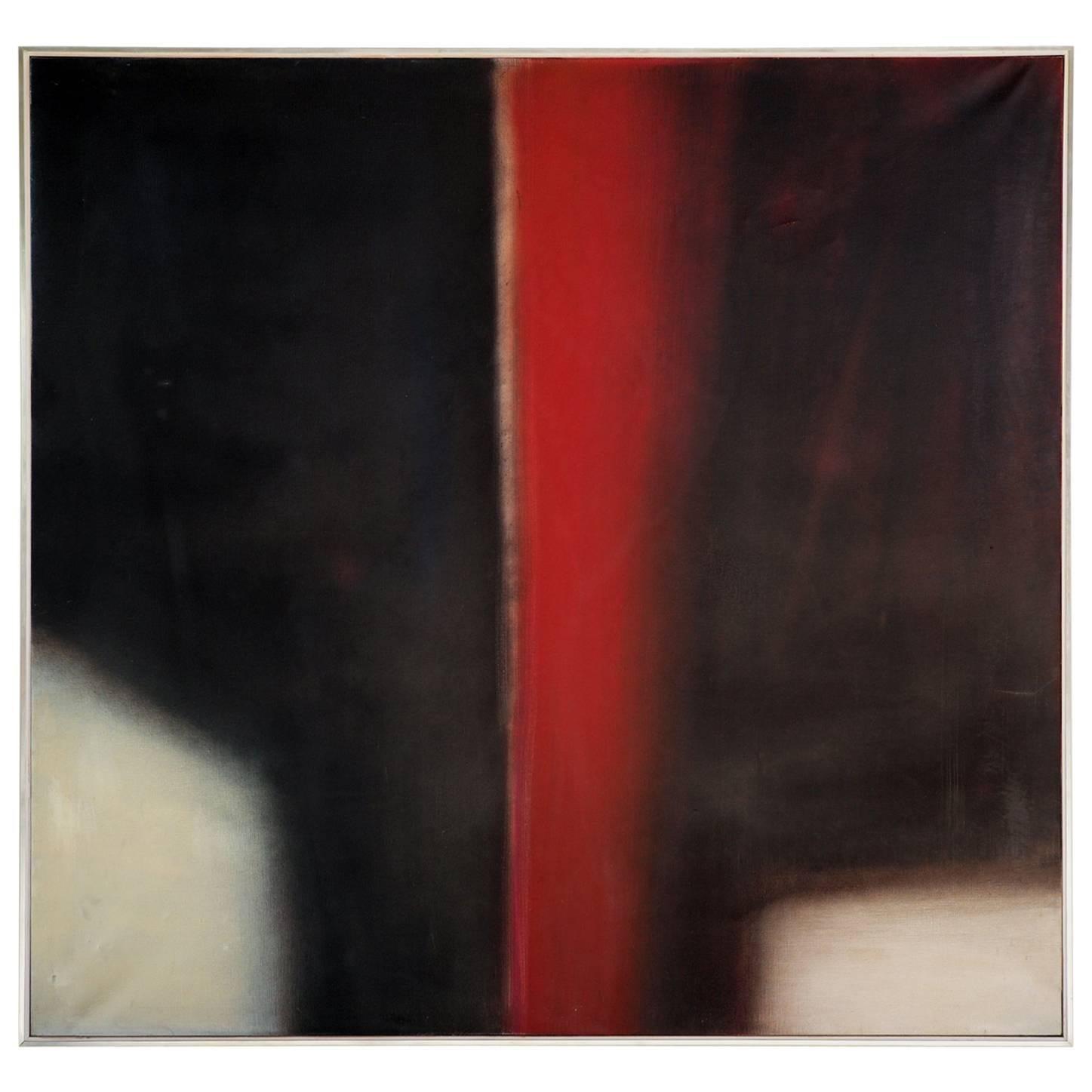 Claudio Olivieri, Diacromia, Oil on Canvas Dated 1971