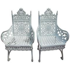 Cast Iron Peter Timmes Chairs Brooklyn NY