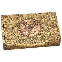 Art Nouveau Boxes 83 For Sale at 1stdibs