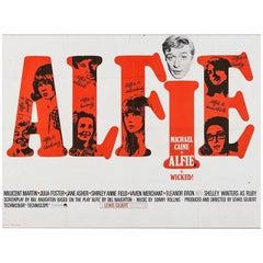 """Alfie"" Film poster, 1966"