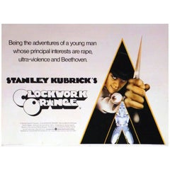 """A Clockwork Orange"" Film Poster, 1971"
