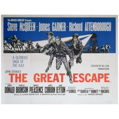 """The Great Escape"" Film Poster, 1970"