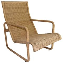 Bielecky Woven Rattan Armchair
