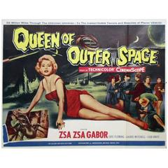 """""""Queen of Outer Space"""" Poster, 1958"""