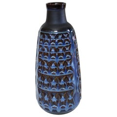 Fine Big Old Danish Vase, Svend Aage Jensen Master in Glazes