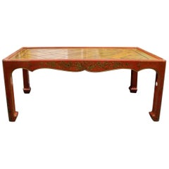 Chinoiserie Decorated Low Table