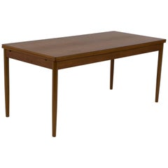 Large Danish Mid-Century Modern Extending Dining Table, 1960s