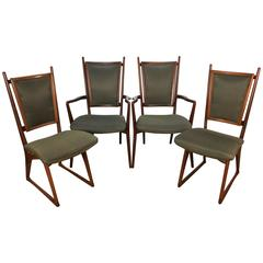 Four Vladimir Kagan Dining Chairs