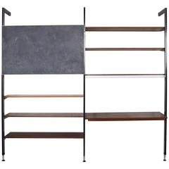 George Nelson CSS Shelving Unit with Chalkboard by Herman Miller