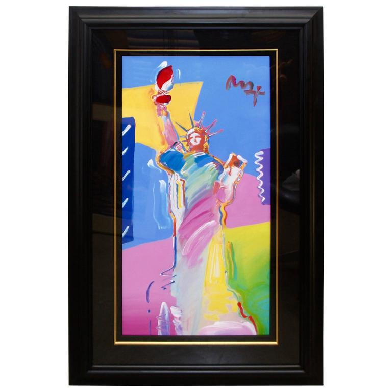 "Peter Max ""Statue of Liberty"", 2001 For Sale"