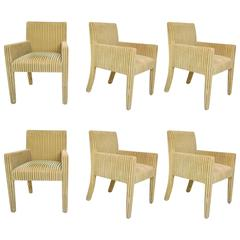 Six 1980s J. Robert Scott Dining Chairs