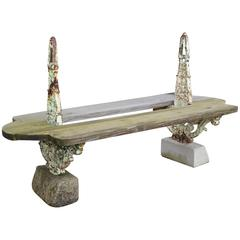 French Double Garden Bench