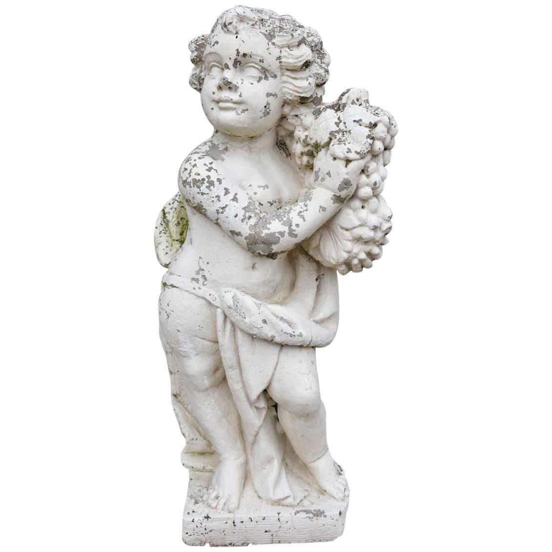 Victorian Garden Cast Stone Putti