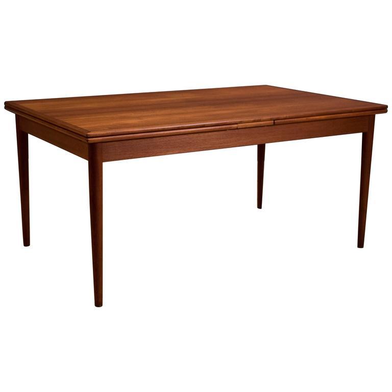danish teak dining table by koefoeds hornslet 1. beautiful ideas. Home Design Ideas