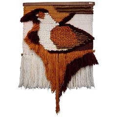 Striking Wool Tapestry