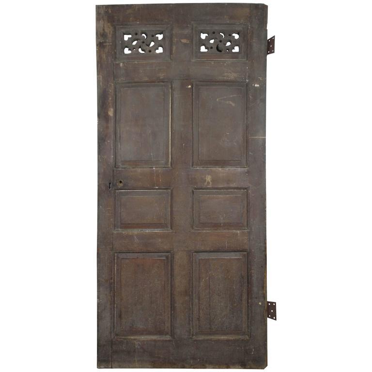 Early 19th Century English Oak Door