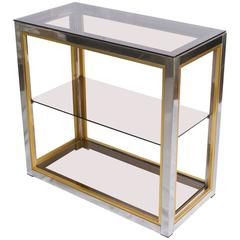 Three-Tier Console Table by Romeo Rega