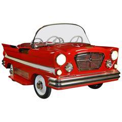 L'Autopède metal Carousel Dodge Car 1960s
