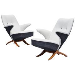 Theo Ruth Penguin Chairs Artifort, 1957