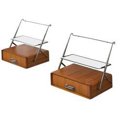 Silvio Cavatorta Wall-Mounted Bedside Tables