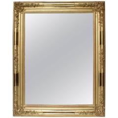 Early 19th Century French Giltwood Mirror