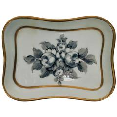 French Porcelain Jewelry Dish, France