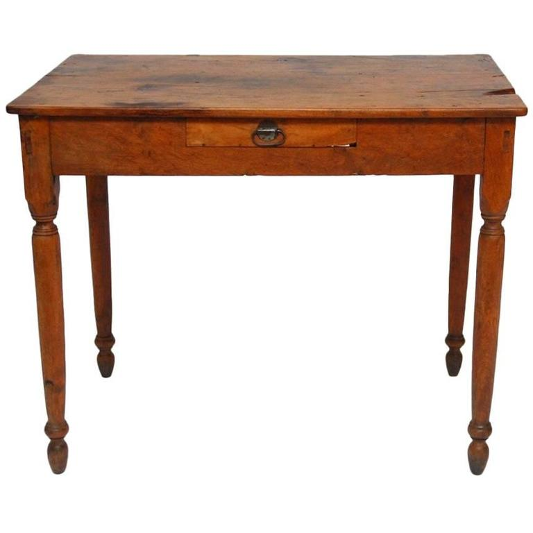 Farmhouse Kitchen Work Table: 19th Century French Oak Farm Table Or Work Table At 1stdibs